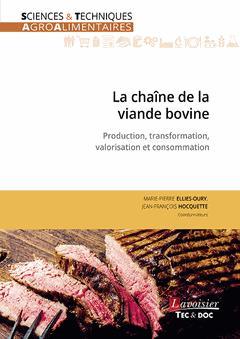 La chaîne de la viande bovine - lavoisier / tec et doc - 9782743023317 -