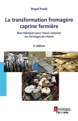La transformation fromagère caprine fermière - lavoisier - tec et doc editions - 9782743025731 -