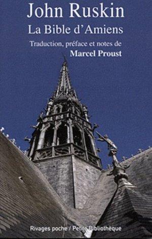 La Bible d'Amiens - Rivages - 9782743622626 -