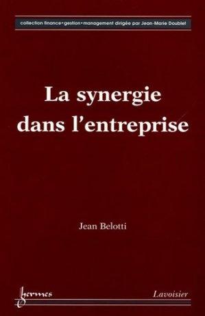 La synergie dans l'entreprise - Hermes Science Publications - 9782746210691 -