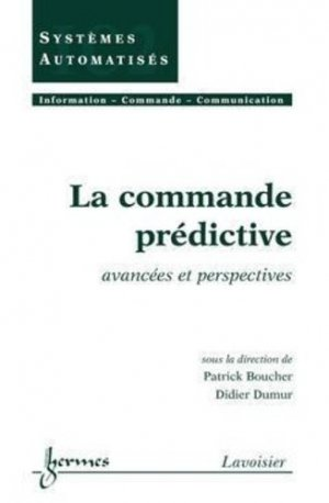 La commande prédictive - hermès / lavoisier - 9782746213616 -
