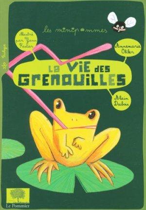 La vie des grenouilles - le pommier - 9782746504608 -
