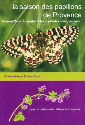 La saison des papillons de Provence - proserpine - 9782746609518 -