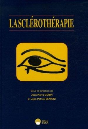 La sclérothérapie - eska - 9782747207553 -