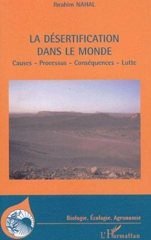 La désertification dans le monde - l'harmattan - 9782747563673 -