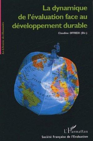 La dynamique de l'évaluation face au développement durable - l'harmattan - 9782747571241 -