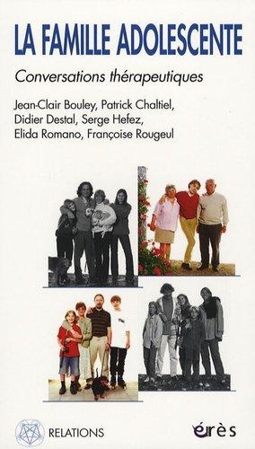 La famille adolescente. Conversations thérapeutiques - Erès - 9782749206554 -