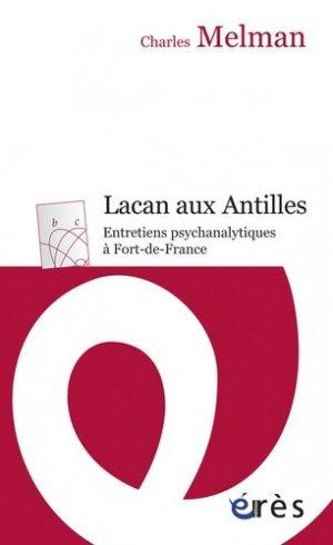 Lacan aux Antilles - eres - 9782749240657 -