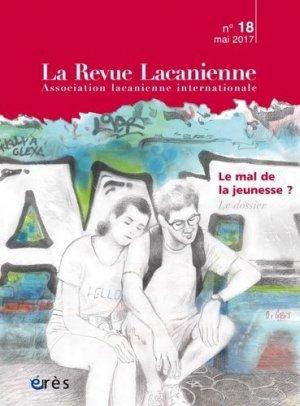 La Revue Lacanienne N° 18 - eres - 9782749255224 -