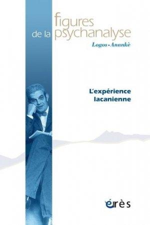 Lacan, l'expérience analytique - eres - 9782749265377 -