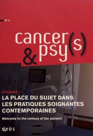 La place du sujet dans les pratiques soignantes contemporaines - erès - 9782749265605 -