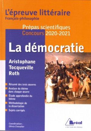 La démocratie - bréal - 9782749538952