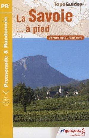 La Savoie à pied - ffrp - 9782751402425 -
