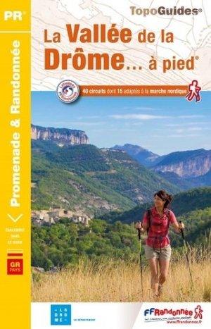 La vallée de la Drome à pied - FFRandonnée - 9782751410956 -
