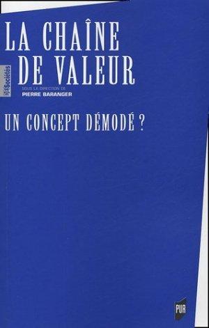La Chaîn de Valeur - presses universitaires de rennes - 9782753500020 -