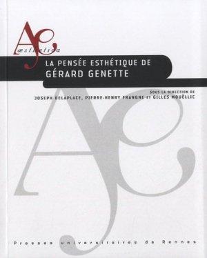 La pensée esthétique de Gérard Genette. Avec 1 CD audio - presses universitaires de rennes - 9782753517493 -