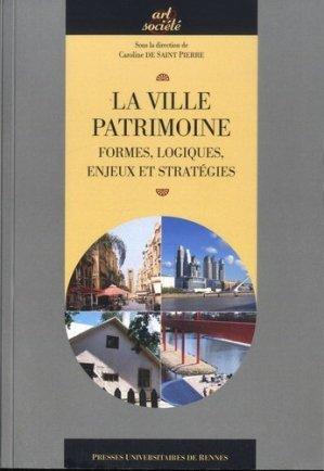 La ville patrimoine - presses universitaires de rennes - 9782753533479 -