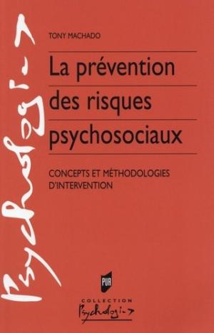 La prévention des risques psychosociaux - presses universitaires de rennes - 9782753540668 -