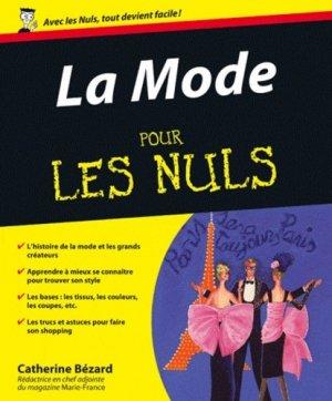 La Mode pour les Nuls - Editions First - 9782754030045 -