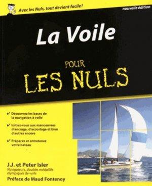 La voile pour les nuls. 2e édition - first editions - 9782754074247 -