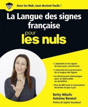 La Langue des Signes Française pour les Nuls - first - 9782754083706