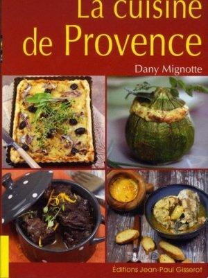 la cuisine de provence - gisserot - 9782755808360