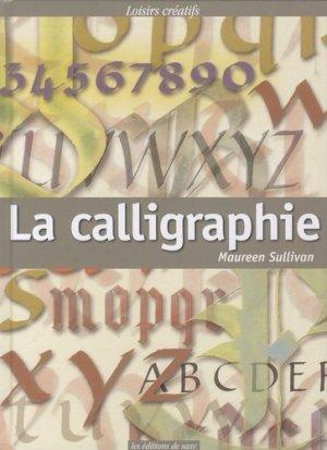 La calligraphie - de saxe  - 9782756505619 -