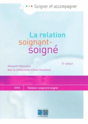 La relation soignant-soigné - lamarre - 9782757302002 -