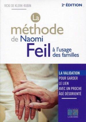La méthode de Naomi Feil à l'usage des familles - lamarre - 9782757307809 -