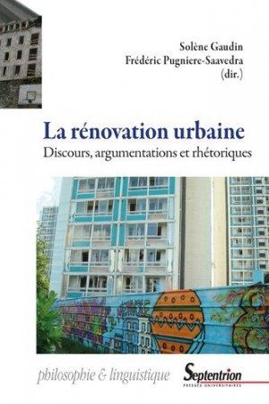 La rénovation urbaine - Presses Universitaires du Septentrion - 9782757432204 -