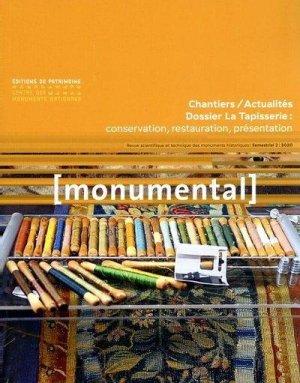 Monumental 2020-2 : la tapisserie - éditions du patrimoine centre des monuments nationaux - 9782757706558 -