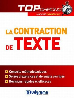 La contraction de texte - studyrama - 9782759017485 -