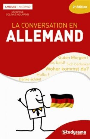 La conversation en allemand - Studyrama - 9782759025299 -