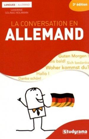 La conversation en allemand - Studyrama - 9782759032068 -