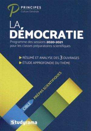 La démocratie - studyrama - 9782759040537