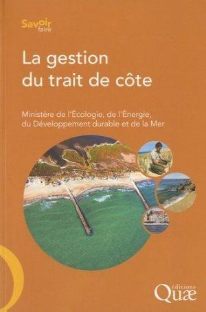La gestion du trait de côte - quae - 9782759203604 -