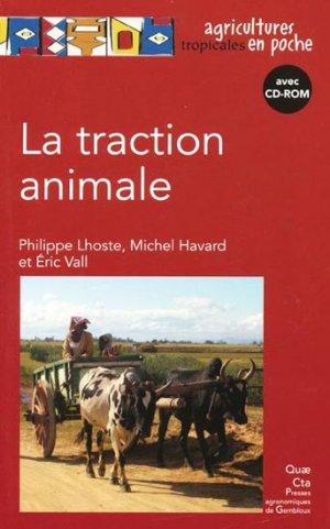 La traction animale - quae  - 9782759208869