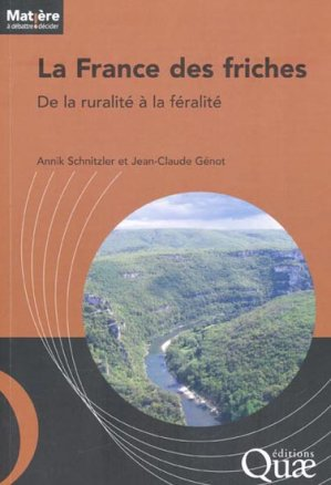 La France des friches - quae  - 9782759217007 -