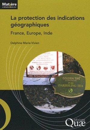 La protection des indications géographiques - quae  - 9782759217786 -