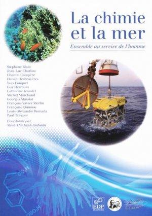 La chimie et la mer - edp sciences - 9782759804269 -