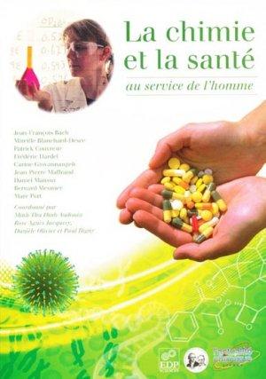 La chimie et la santé - edp sciences - 9782759804887 -