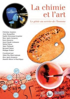 La Chimie et l'art - edp sciences - 9782759805273