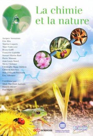 La chimie et la nature - edp sciences - 9782759807543