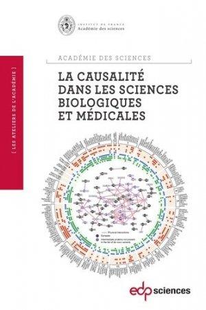 La causalité dans les sciences biologiques et médicales - edp sciences - 9782759817160 -