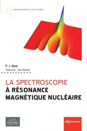 La spectroscopie à résonance magnétique nucléaire - edp sciences - 9782759821198