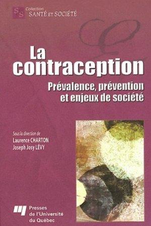 La contraception - presses de l'universite du quebec - 9782760529427 -