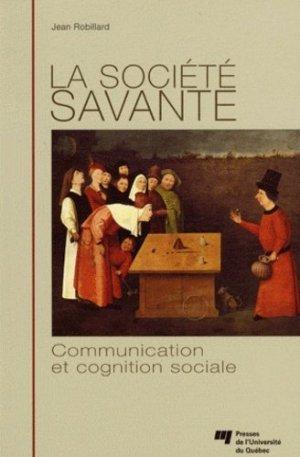 La société savante - Presses de l'Université du Québec - 9782760529984 -