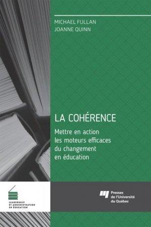 La cohérence - Presses de l'Université du Québec - 9782760547414 -