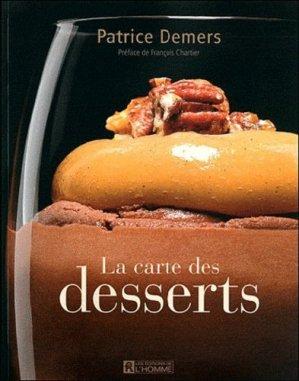 La carte des desserts - de l'homme - 9782761926713 -