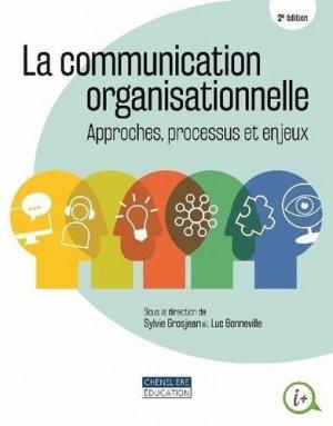 La communication organisationnelle - cheneliere education (canada) - 9782765078685 -